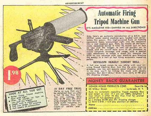 Tripod Machine Gun