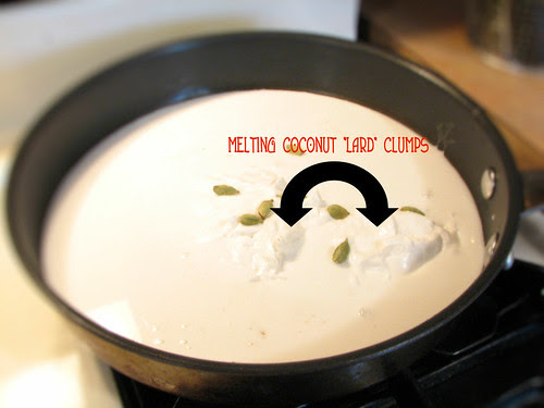 Coconut Milk Gone Very Wrong.
