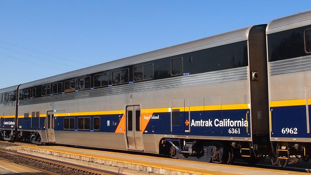 Amtrak California 6361 Cafe Car Angel Island 2