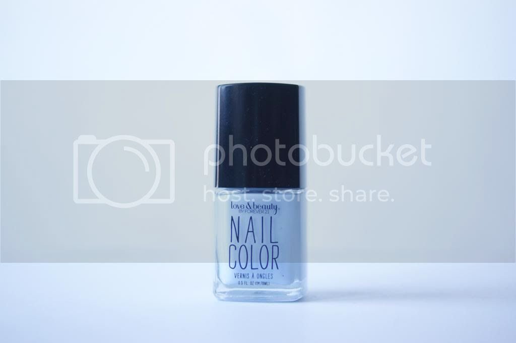Collective Nail Polish Haul Forever 21 Light Blue