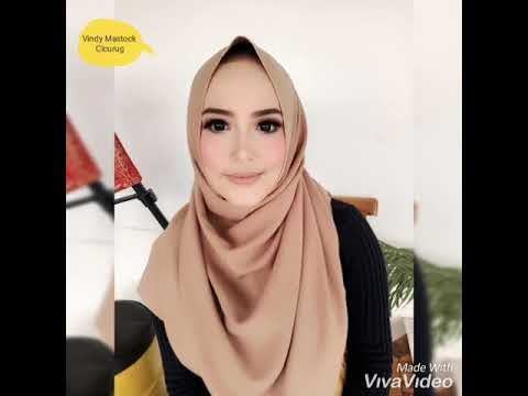 Video Wanita Cantik Berjilbab ini Rawat Kulit Dengan Spirulina Body Serum