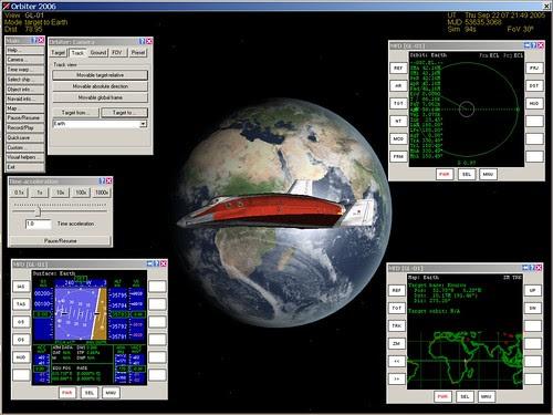 Geostationary Demo in Orbiter