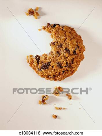 Stock Images of Cookie with a Bite Missing x13034116 ...