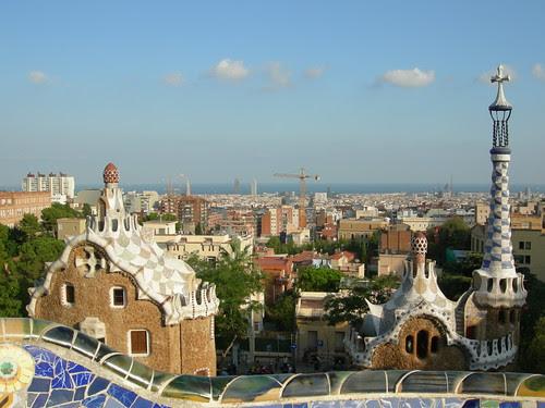Panorama di Barcelona da Parc Guell by via_parata