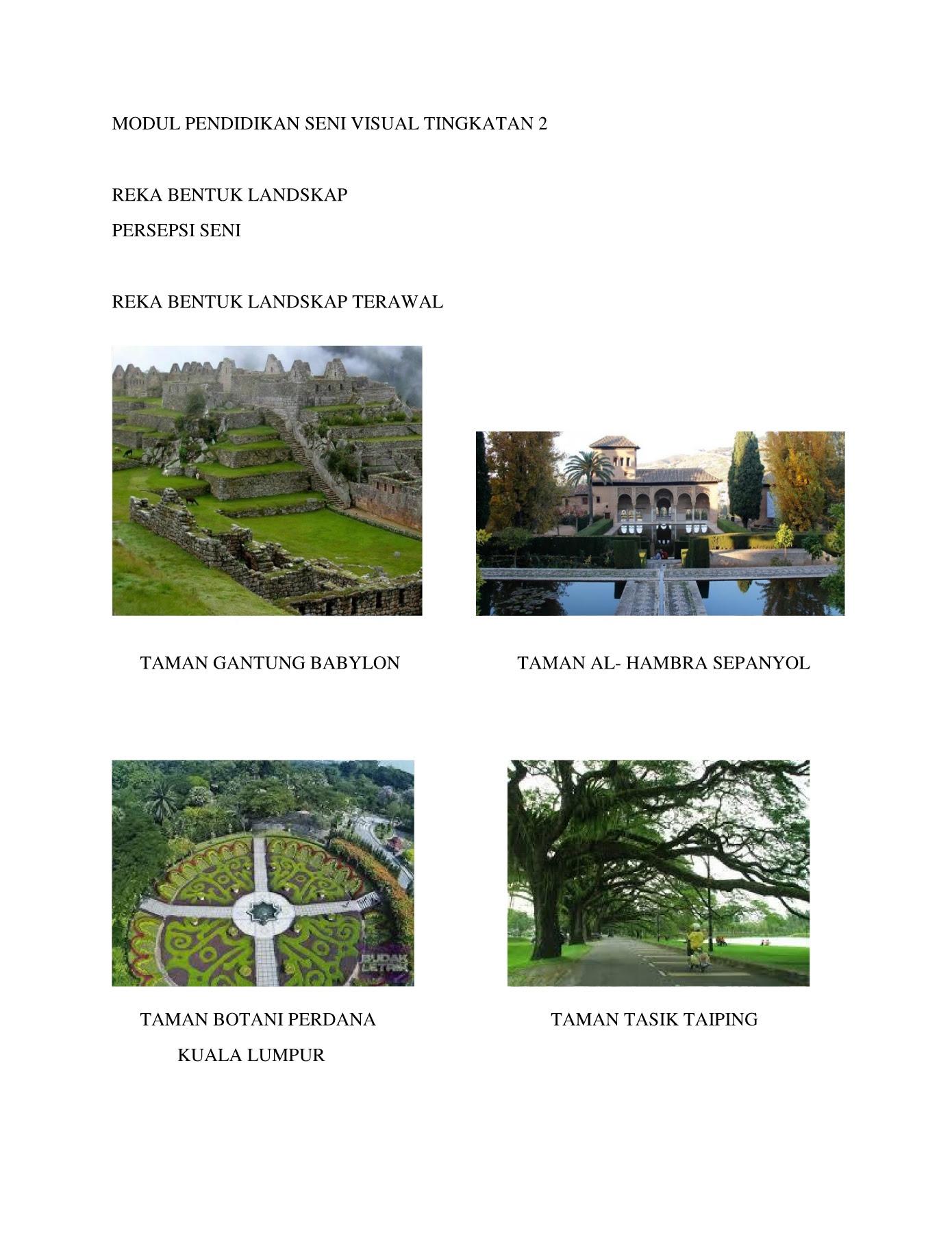 Lukisan Landskap Taman Mini Jepun Cikimm Com