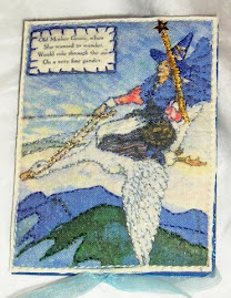 Sandy Babb - 1st place for most creative: Alpha Stamps Mother Goose ATC swap