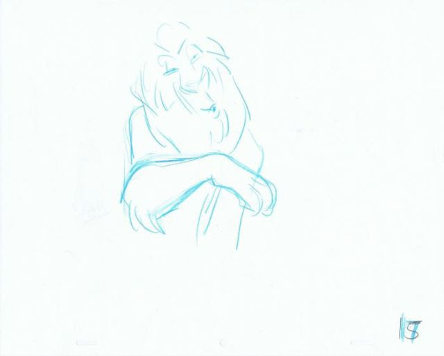 """The Original Concept Art of """"The Lion King"""""""