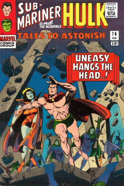 Tales to Astonish 076