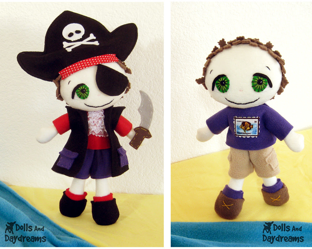freddy fleece pirate sewing pattern