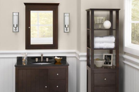 Bathroom Vanity Cabinets: Hampton - Contemporary - Bathroom ...
