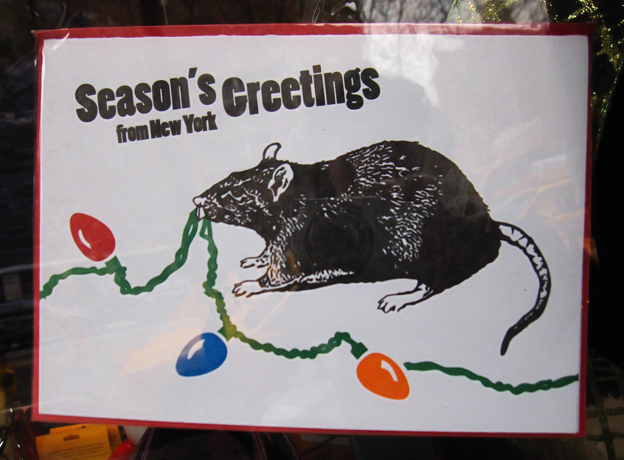 Season's Greetings from New York