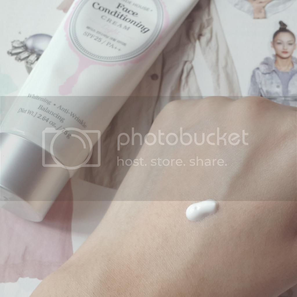 Etude House Face Conditioning Cream Light review