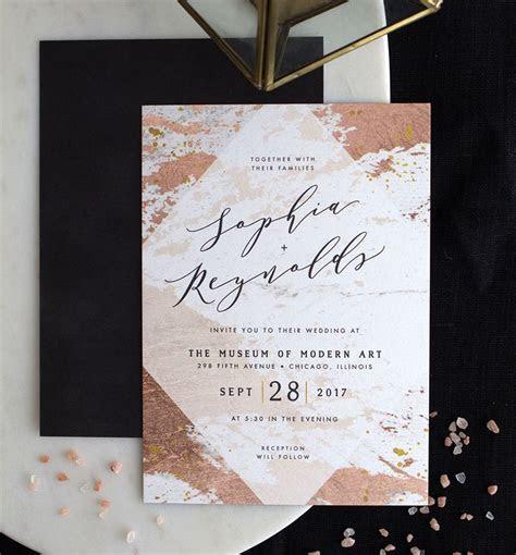 The Lantana   Wedding Invitation Trends for 2019