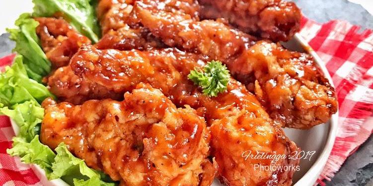 Resep Chicken Wings Barbeque Oleh Frielingga Sit