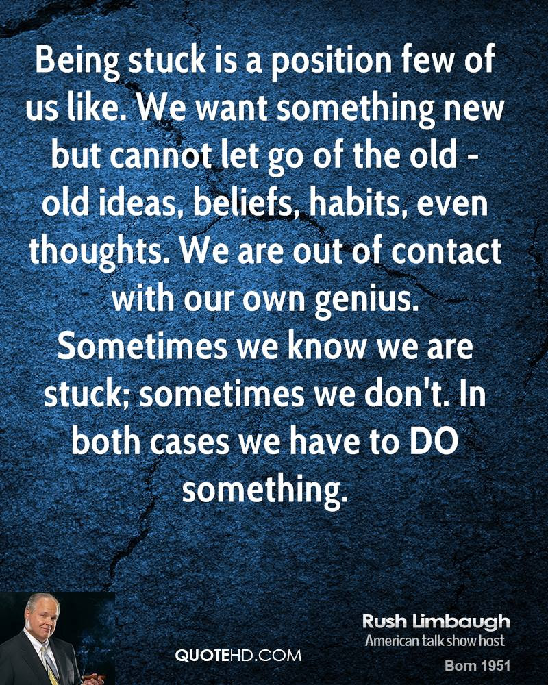 Being Stuck In The Past Quotes