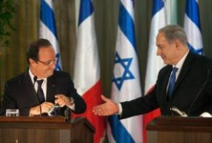 Hollande et Netanyahou