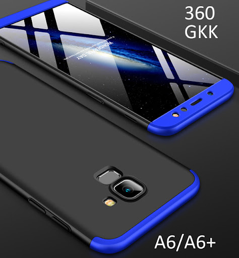 Special Offers GKK Case For Samsung Galaxy A6 Plus A6+ 2018 360 Full Protection Cover Product ID : 32892107371 Price : $4.55 Discount Price : $1.79