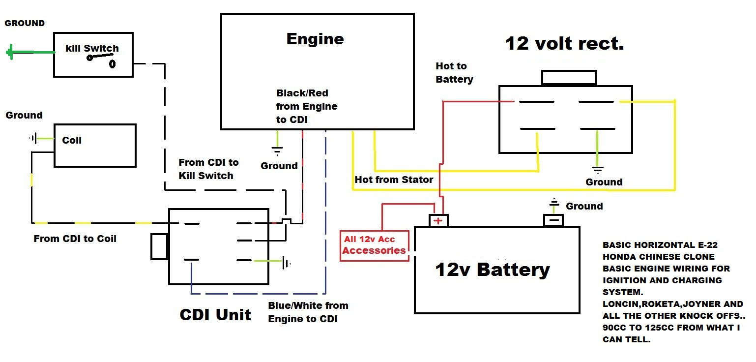 110cc ignition switch diagram great installation of wiring diagram