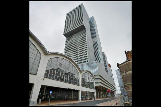 rotterdam multifunctioneel gebouw de rotterdam 04 2013 oma (wilhelminakde)