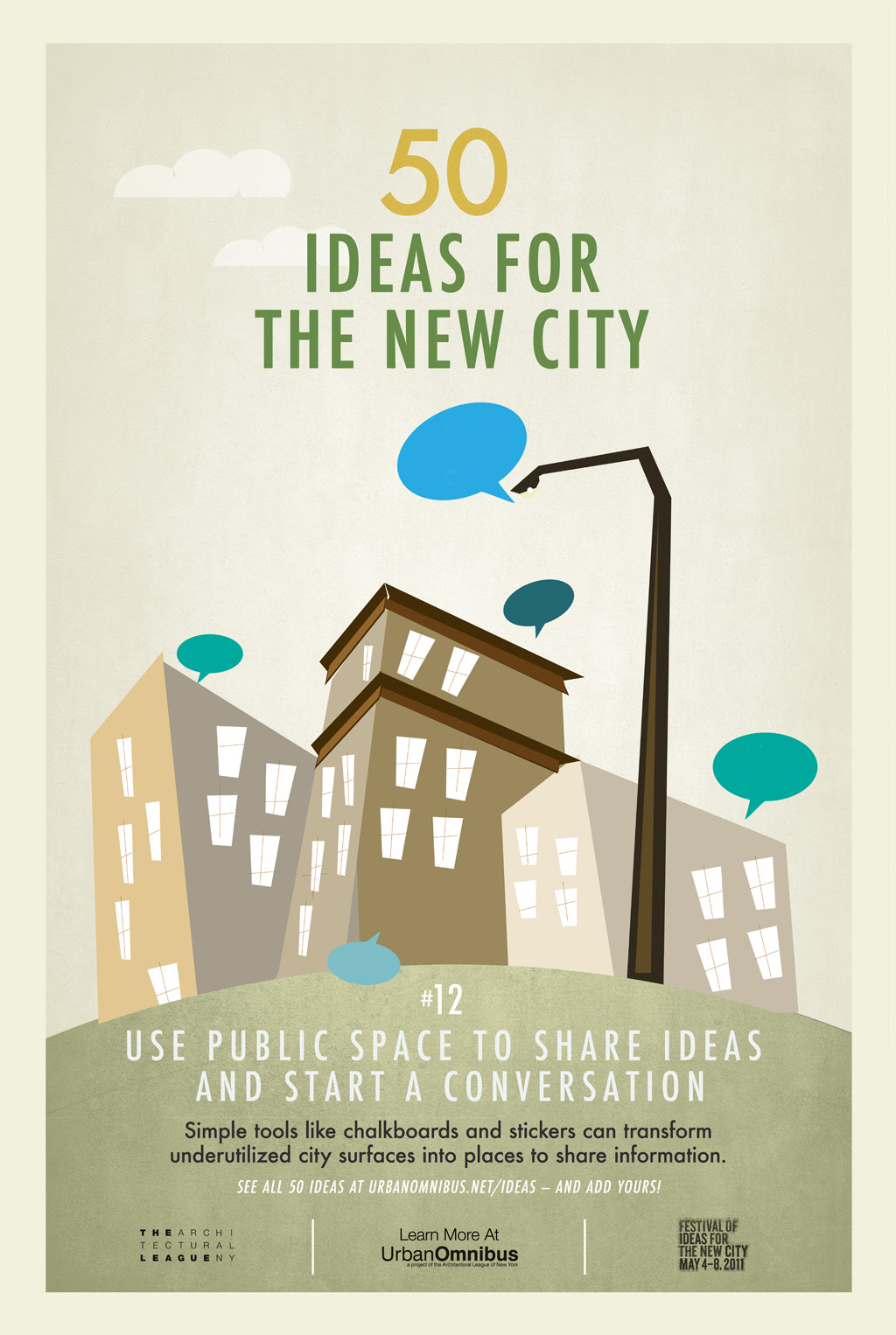 50 Ideas for the New City | Urban Omnibus