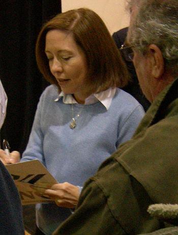 U.S. Senator Maria Cantwell (D-WA) at campaign...