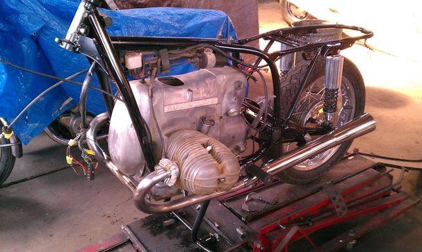 1972 Bmw R75 5 The Vintage Bike Builder