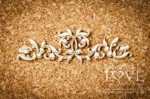 Tekturka - Ornament - konwalie - Baby lily
