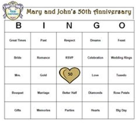 Anniversary Trivia   Anniversary Party Game   50th