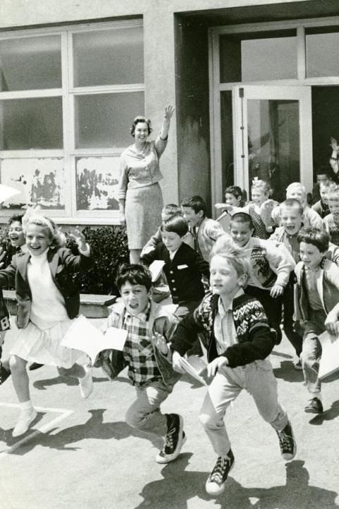 This is a last day of school photo, June 15, 1965.