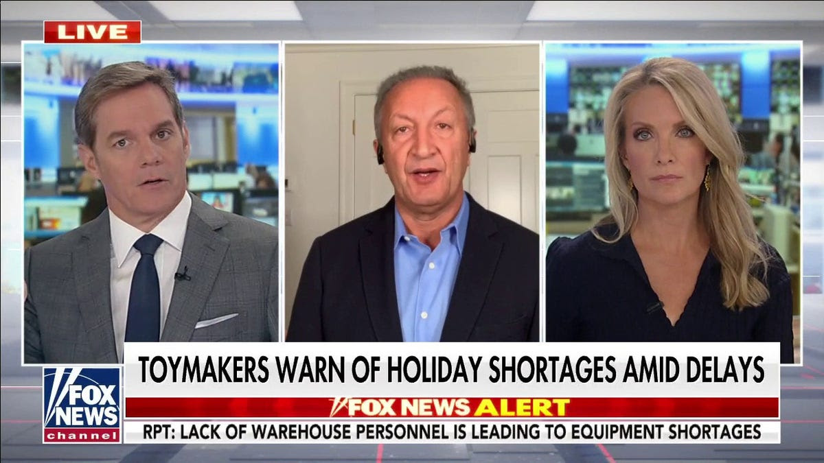 Toymaker slams Biden's port directive: 'Too little too late' to save Christmas