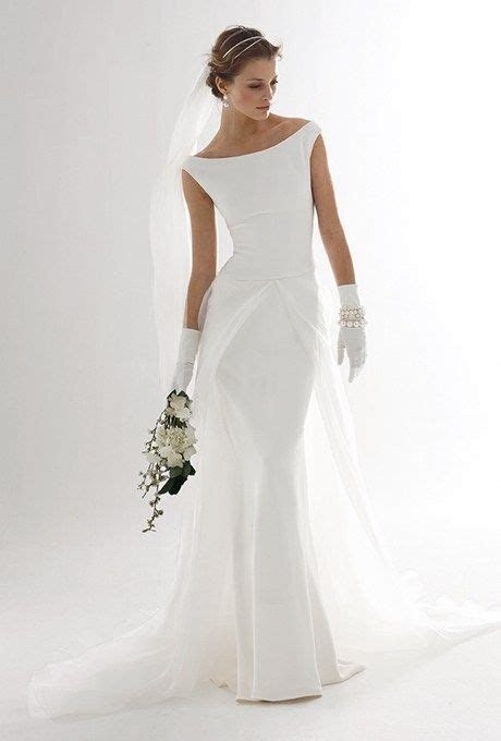Classic Wedding Gowns For the Over 50 Bride   Weddings