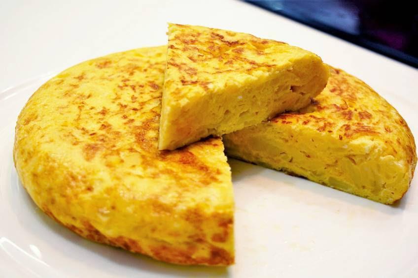 Resultado de imagen de tortilla de patatas