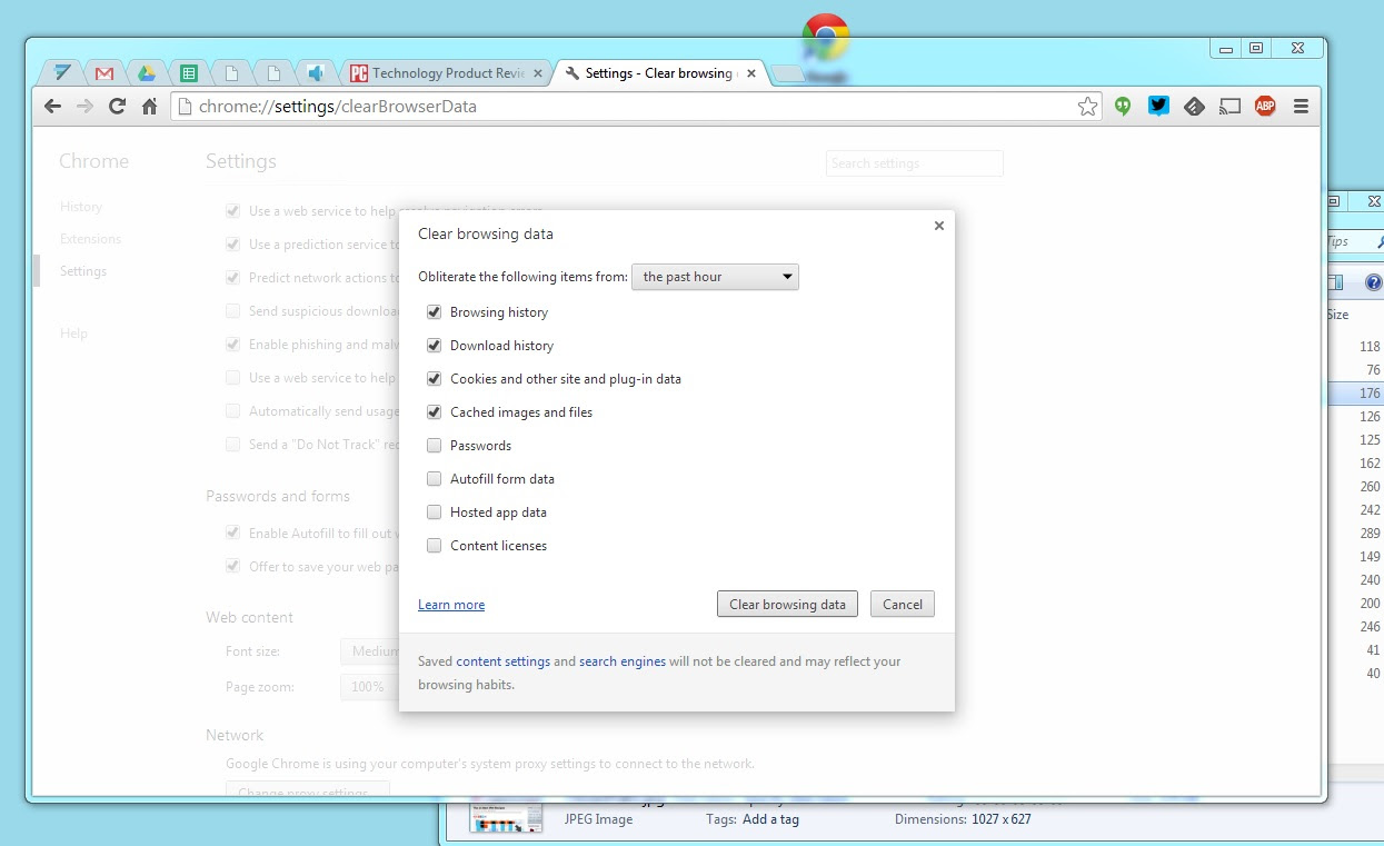 how to delete autofill in address bar in google chrome