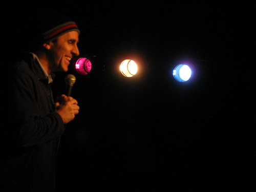 Mike Sheehan at Chicago Underground Comedy Dec. 9, 2008
