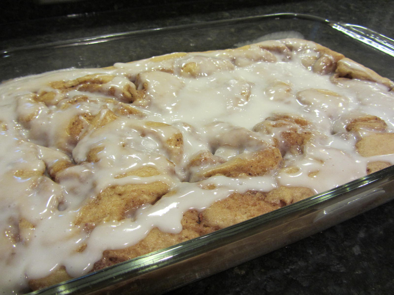 Cinnamon Roll Cake from Future Expat