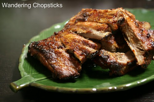 Korean Gochujang and Indonesian Kecap Manis Pork Ribs 1