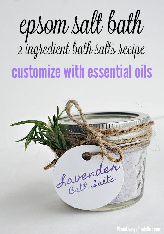 Essential oil DIY gift ideas