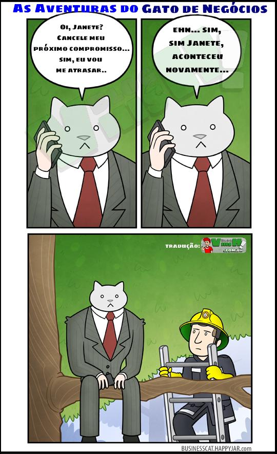 Blog Viiish - Aventuras do gato de negócios - Atraso