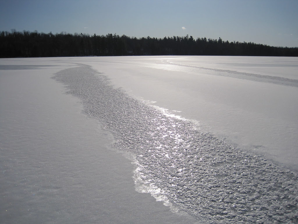 Rivers in the ice