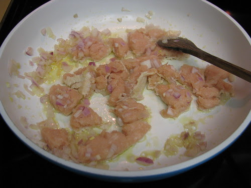 chicken and onion