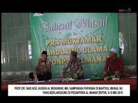 Prof Dr Said Agil Husein Al Munawar; Wahabi Tuduh Imam Al Ghazali Tak Paham Qur'an dan AsSunnah