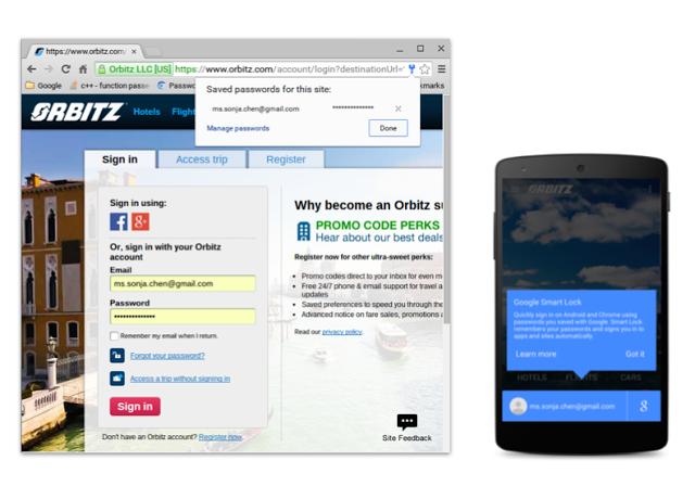 Google lançou nova plataforma de autenticação para Android e Chrome que salva senhas (Foto: Divulgação/Google)