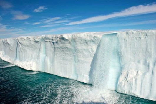 Cachoeiras Geleira em Svalbard na Noruega 1 12 Natural Ice Wonders Pictures visto na www.VyperLook.com