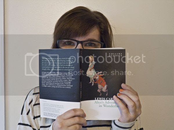 Alice's Adventures in Wonderland by Lewis Carroll book review on Blogger's Bookshelf.