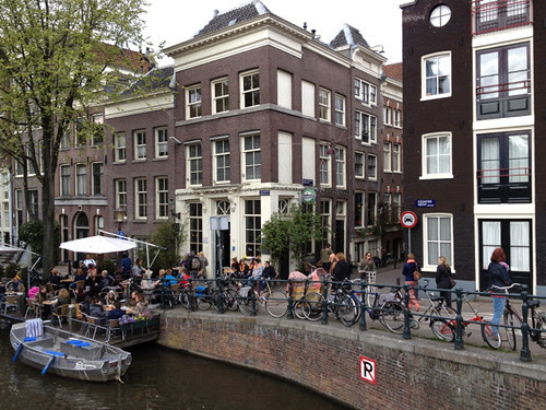 Amsterdam - Saturday near Noorderkerk