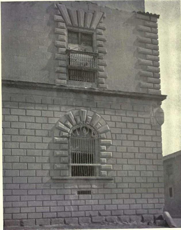 Almohadillado del Hospital Tavera. Fotografía de Austin Whittlesey a comienzos del siglo XX. © University of Toronto
