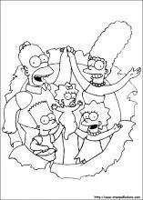 Disegni Di Simpson Da Colorare