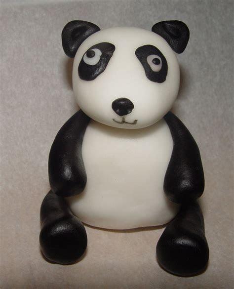Fondant Panda Cake Topper (set Of 2) on Luulla