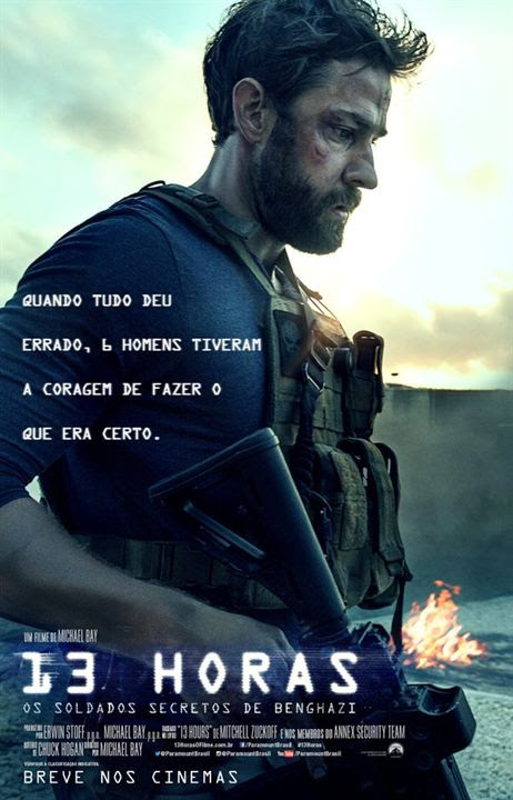 13 Horas: Os Soldados Secretos de Benghazi : Poster