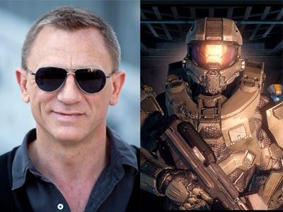 "Daniel Craig – ""Halo"""